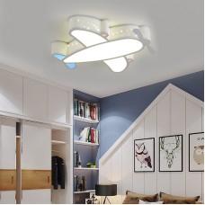 Plafonnier chambre d'enfants garçon avion lumière créative LED chambre protection des yeux lumière fille chambre dessin animé lumière
