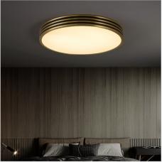 plafonnier led ultra-mince simple moderne chaud romantique créatif nordique chambre de ménage lumière