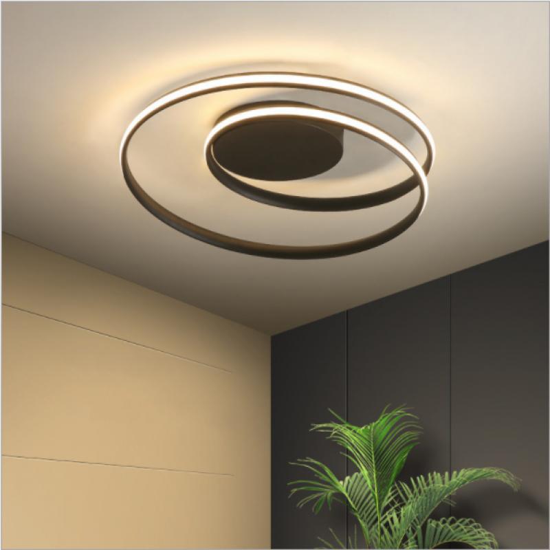 Lampe en aluminium lampe de chambre créative nordique moderne nouvelle lampe à LED