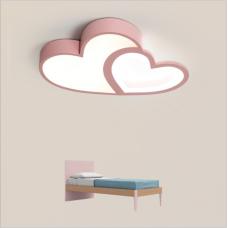 plafonnier led chambre d'amour créatif lampe de protection des yeux