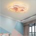 Plafonnier led moderne minimaliste nordique lampes chaudes et romantiques en forme de coeur