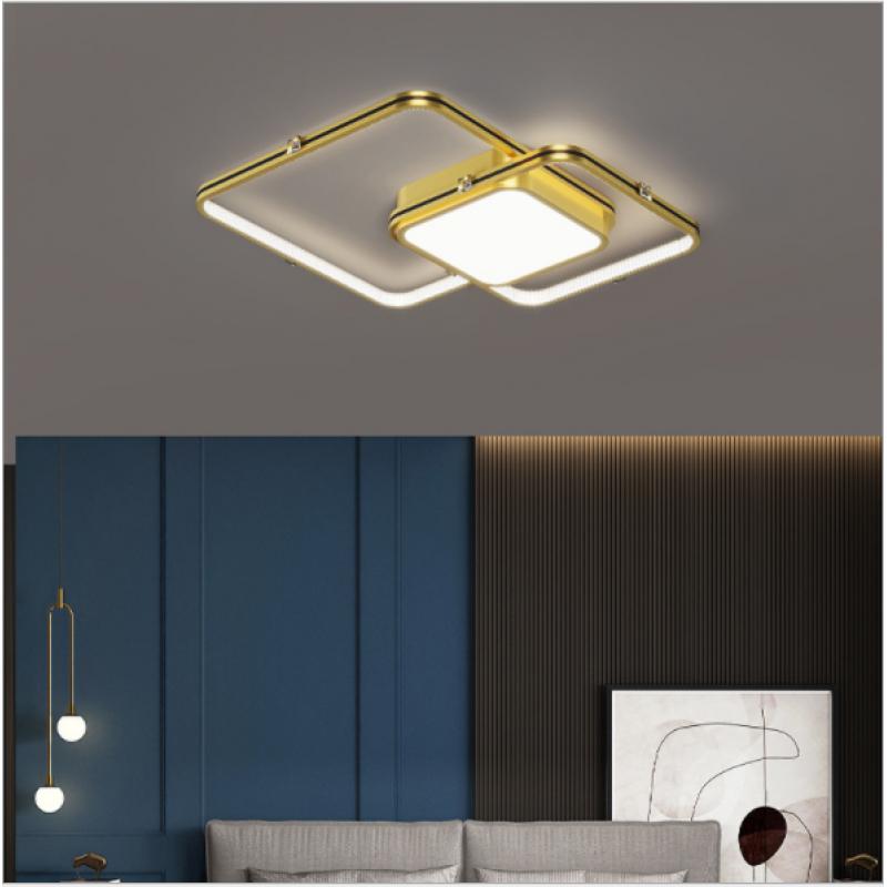 Ambiance moderne simple led plafonnier personnalité lampe de chambre créative