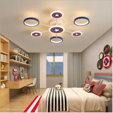Plafonnier de chambre d'enfant dessin animé créatif LED lampe de chambre nordique