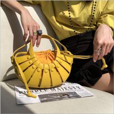Sac de panier de fleurs coréen à la mode sac de messager d'été frais texture féminine sac de banlieue à la mode