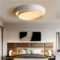 Plafonnier minimaliste moderne nordique designer chambre de mode créative chaude et romantique lampes minimalistes à led rondes