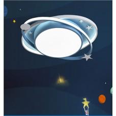Lampe de chambre d'enfant nordique lampe de chambre créative plafonnier ciel étoilé doux chaud et romantique