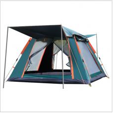 Tente extérieure Tente de camping de plage à ouverture rapide entièrement automatique Tente à quatre côtés de camping multi-personnes étanche à la pluie