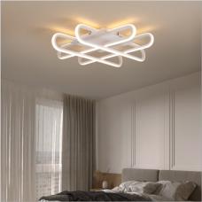 plafonnier led en aluminium de haute qualité créatif chambre principale lumière chambre lumière lampes minimalistes modernes