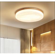 Plafonnier ciel étoilé lumière de chambre à coucher de style japonais led lumière de balcon d'étude de bûche nordique