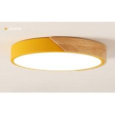 plafonnier LED lampe de chambre lampe ronde lampe de salon ultra-mince lampe de balcon allée minimaliste moderne