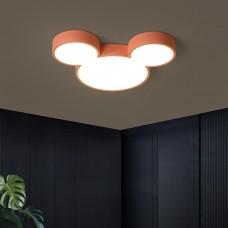 Plafonnier pour enfants personnalité créative minimaliste moderne Mickey LED lampe de chambre à coucher