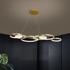 Restaurant lumière LED nouvelle mode longue table à manger lustre créatif bar comptoir avant bar lumière lustre