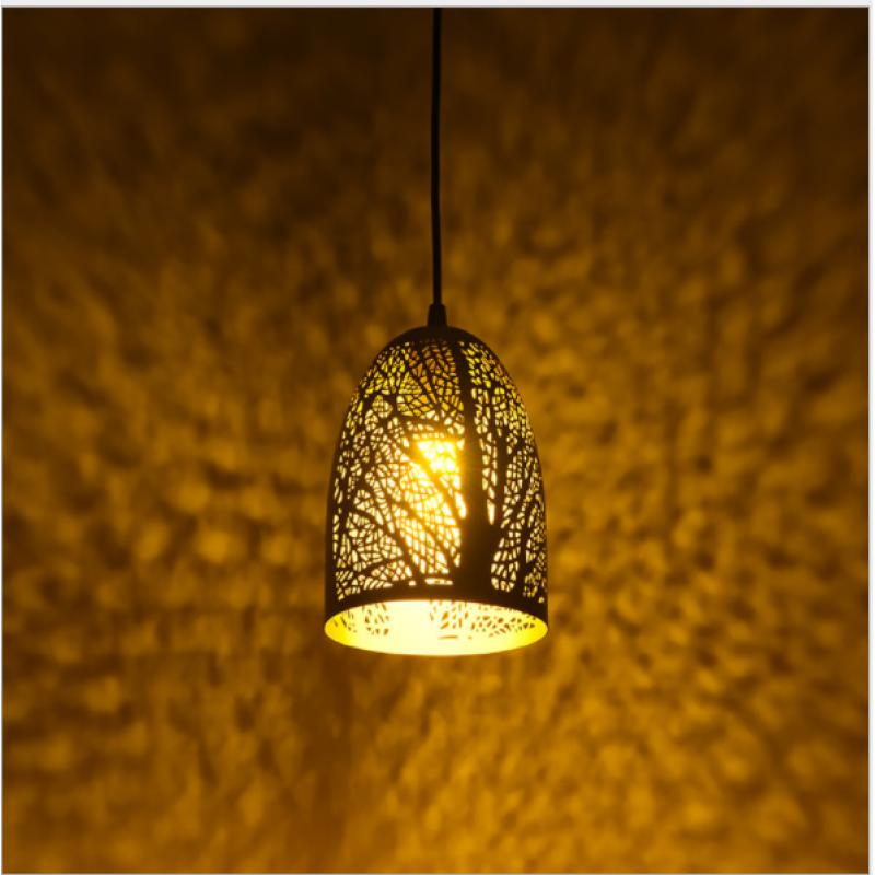 Nordic led lustre en bois moderne minimaliste long lustre salon salle à manger bar lustre