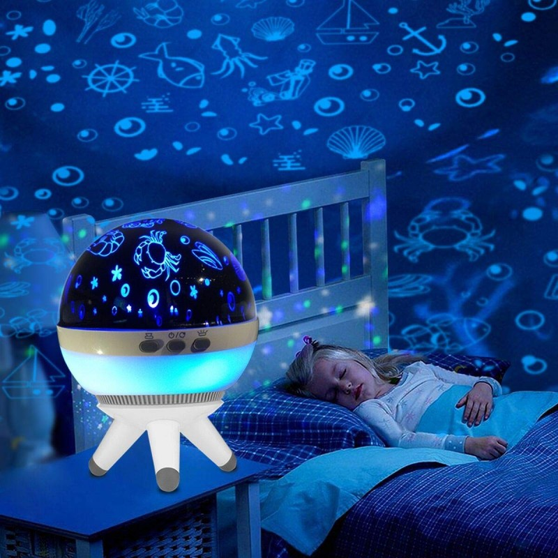 Veilleuses pour enfants-LED Projecteur Lampe-Lampe d'éclairage de nuit - Lampe de projecteur - Lampes domestiques décoratif
