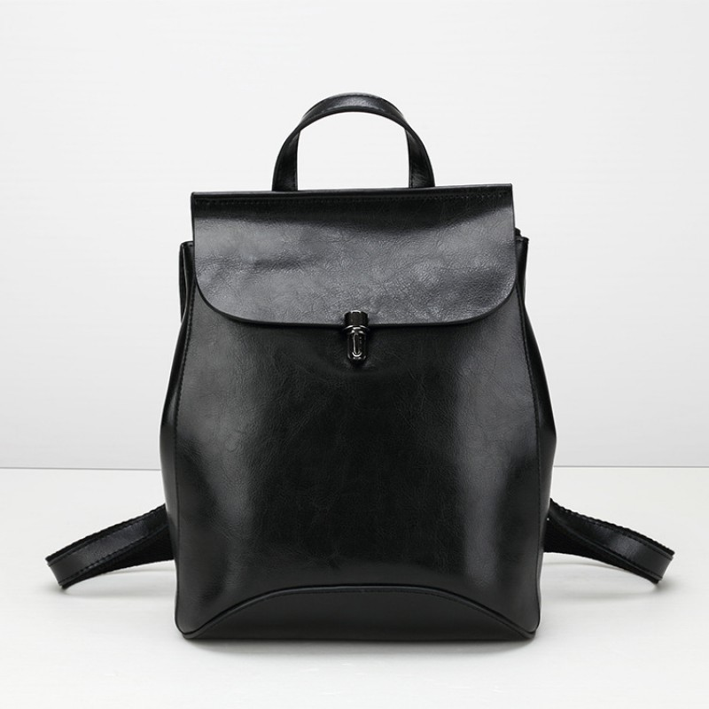 78dc835838 Cuir véritable casual femme sac à dos de mode sacs à dos sacs pour femmes  sac ...
