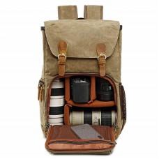Sac à Dos Appareil Photo Sac DSLR Sac de Voyage avec Housse Imperméable Inclus pour DSLR Canon Nikon Sony Olympus