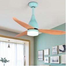 """Ventilateur de plafond avec télécommande, ventilateur de plafond à 3 lumières Ventilateur de plafond à DEL à 3 vitesses, 44 """""""