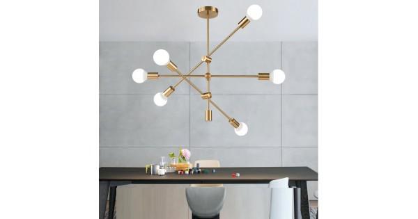 Lustre Gratuites Moderne Adn Branche Multi Lampe Plafonnier Pendentif Ampoules Moléculaire Lumière UzLVqSMpG