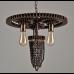 Creative Antique Gear Pendant Lights Salon Plafonnier