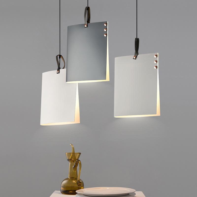 Lustre créatif, lustre de salle d'étude d'art personnalisé, lumière de passerelle des Macarons nordiques