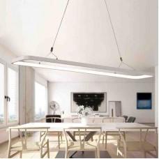 LED suspension lampe de bureau lampe suspension dimmable suspension bureau lampe de suspension réglable en hauteur PVC pour salon