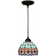 Fabakira Suspension Plafonnier éclairage Lampe Suspension Lustre Royale pour le Salon Chambre à Coucher Salle à Manger Diamètre 8 Pouces